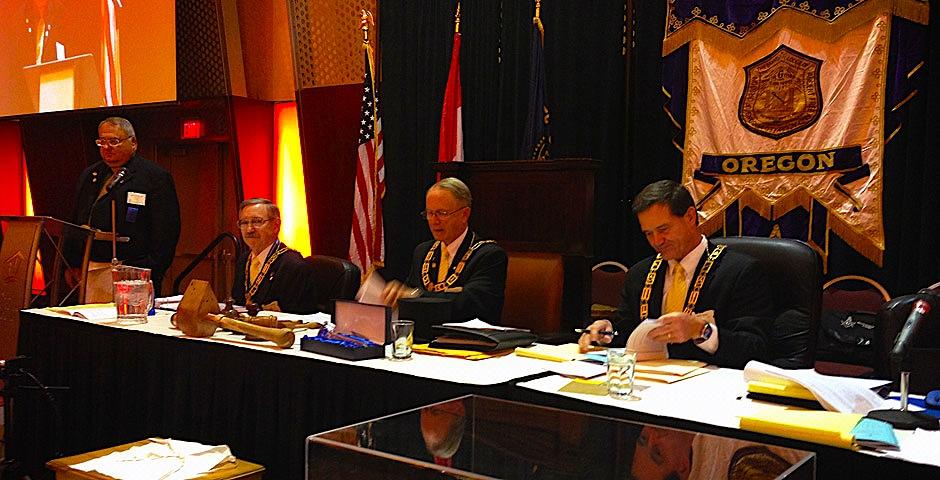 Grand Lodge of Oregon's Grand East