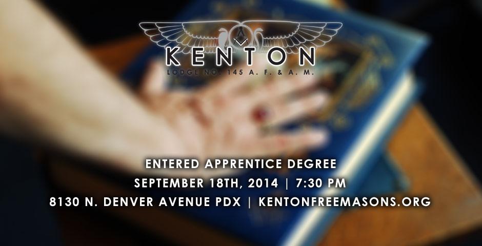 Entered Apprentice Degree