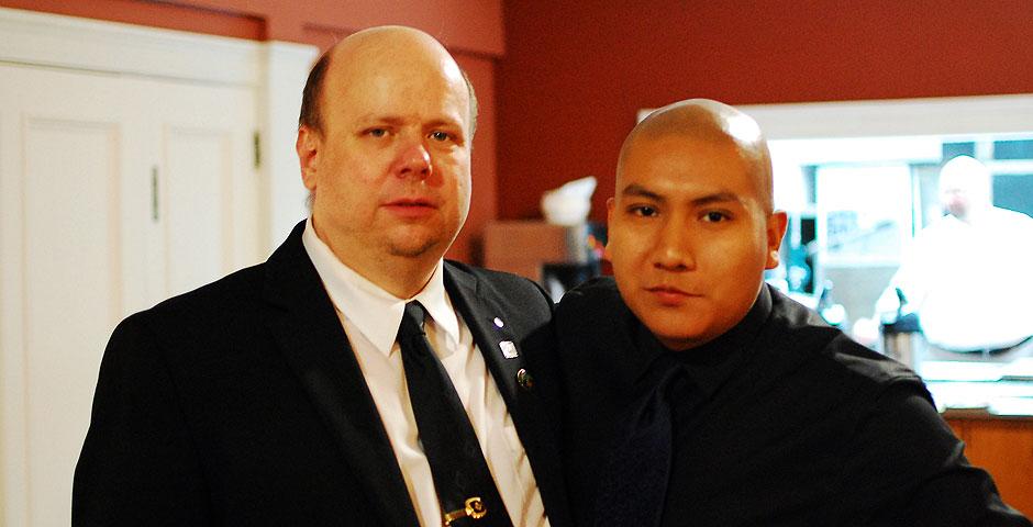 Juan Rogel and Jason Crowder