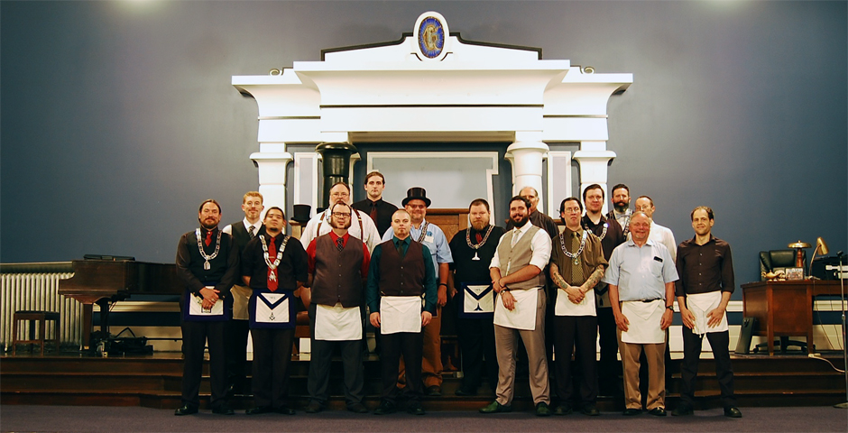 Master Mason Degree - Deryk Moore - Official Pose