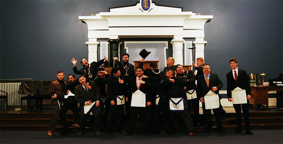 Entered Apprentice Degree - Rostam Mehrafarin - Kenton Pose