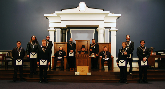 Kenton Masonic Lodge Officers
