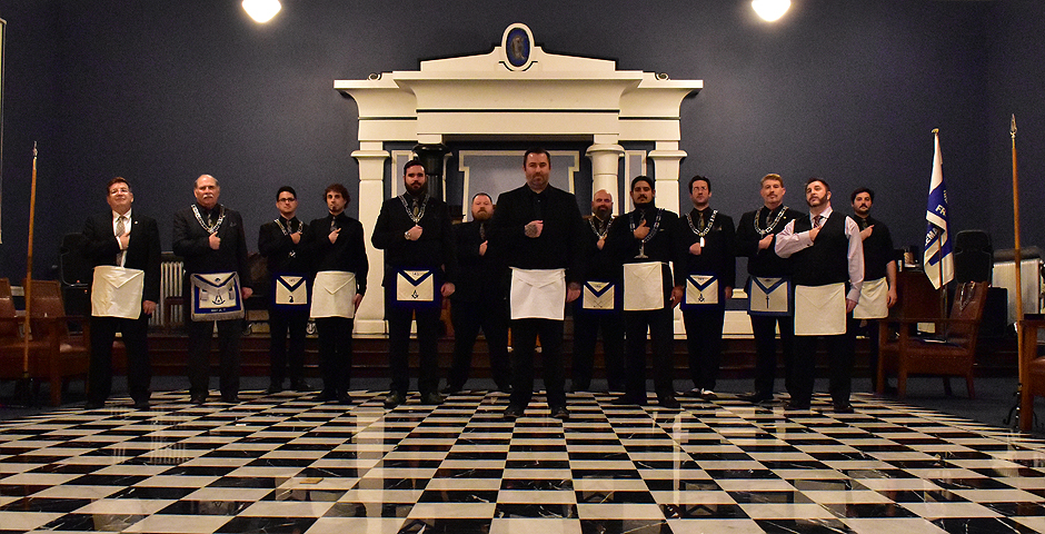 Master Mason Degree - Mike Milford - Alternate Pose