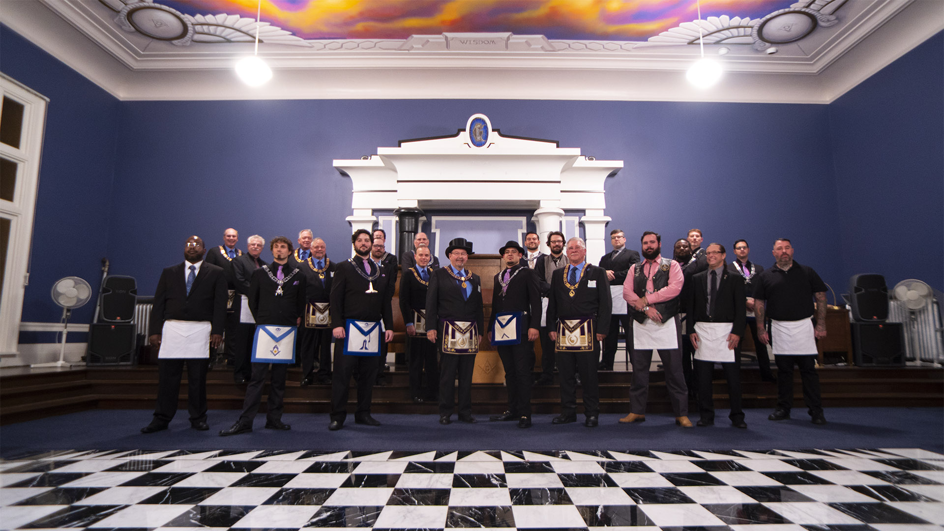 Grand Master's Visit - Official Pose