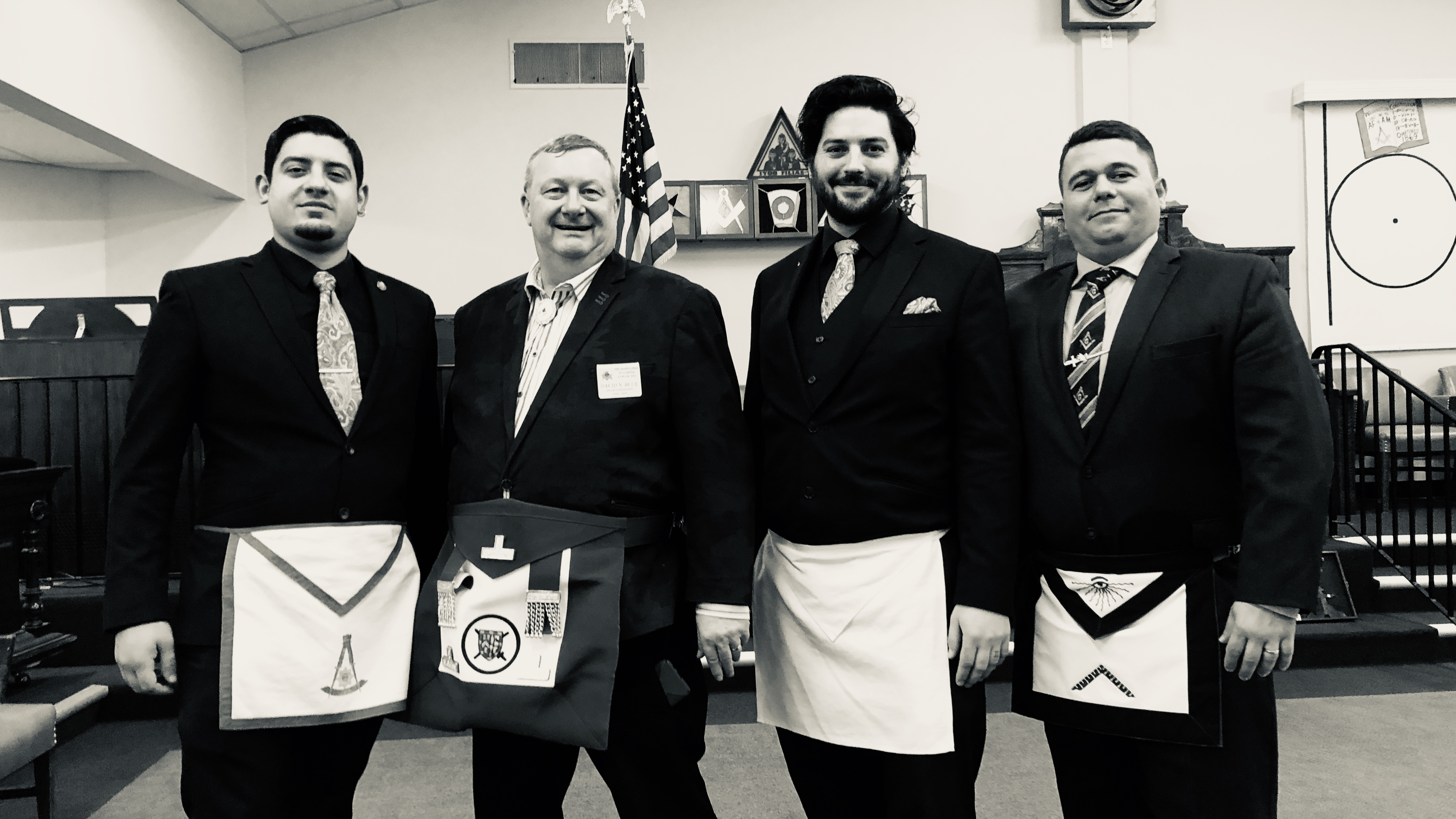 Kenton Visit to Sunnyside Lodge no. 163 - Official Photo