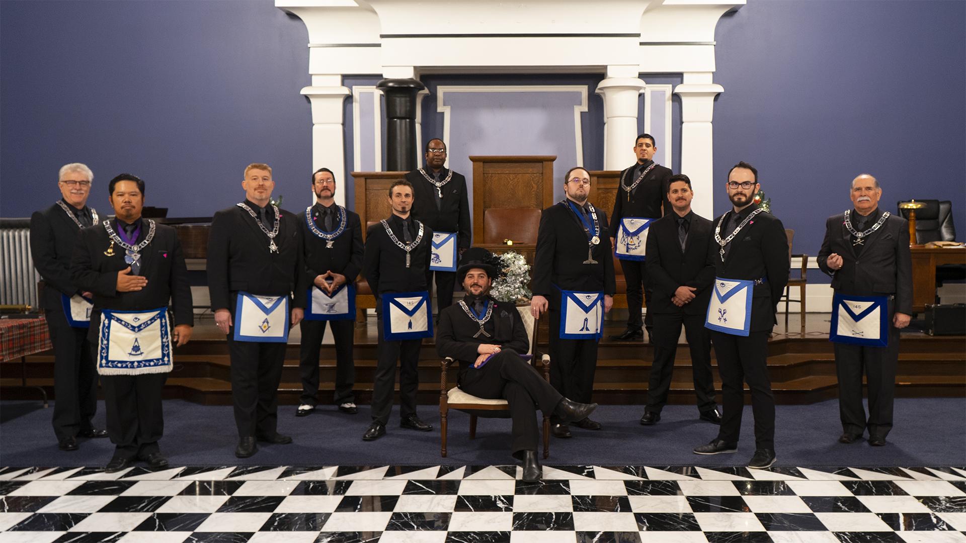 installation 2019 - officers